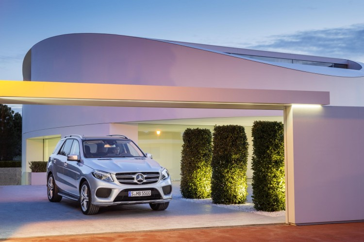2016 Mercedes Benz GLE 550e